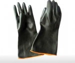 Gloves two color latex L