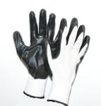 Gloves nitrile coated palm L