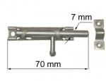 Aizbīdnis 70mm cinkotas