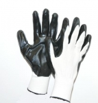Gloves nitrile coated palm XL