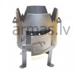 Печь для казана на  8,10,12,16 Л  H-450 mm/D320 mm