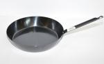 Металлическая сковорода  с металлической ручкой диаметр30см