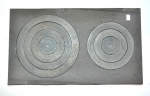 Plīts virsma ar riņkem  760x460mm (24.60kg)