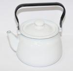Чайник эмалированный 2,5Л без рисунка