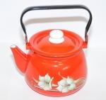 Чайник эмалированный 2,5Л с рисунком
