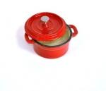 Чугунный (эмалированный) горшочек для жульена диаметр 10см